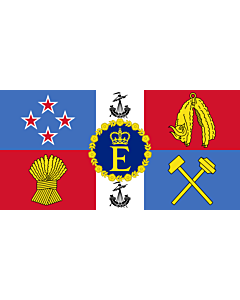 Drapeau: Royal Standard of New Zealand | Queen Elizabeth II s personal flag for New Zealand