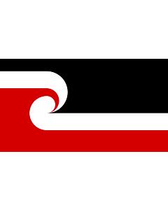 Drapeau: Tino Rangatiratanga Maori sovereignty movement | The Tino Rangatiratanga Flag of the Maori sovereignty movement