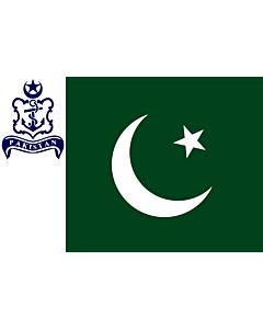 Drapeau: Naval Standard of Pakistan