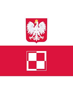 Drapeau: Commander-in-Chief of the Polish Air Force | Polish Air Force Commander-in-Chief s flag | Dowódcy Sił Powietrznych RP