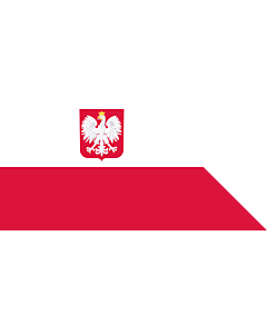 Drapeau: Naval Ensign of Poland