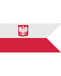 Drapeau: Naval Ensign of Poland normative