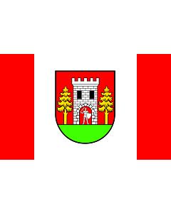 Drapeau: POL gmina Wielbark | Wielbark Commune | Gminy Wielbark