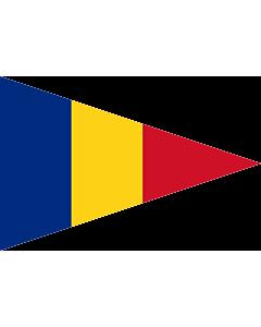 Drapeau: Romanian Lieutenant Commander  1939