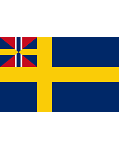 Drapeau: Swedish norwegian union