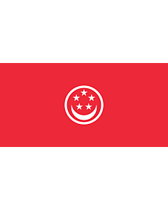 Drapeau: Civil Ensign of Singapore