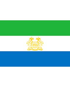 Drapeau: Standard of Ambassadors of Sierra Leone | Standard of ambassadors of Sierra Leone