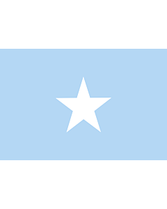 Drapeau: Somalia Sky Blue