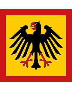 Drapeau: Étendard du Président de la République fédérale d Allemagne