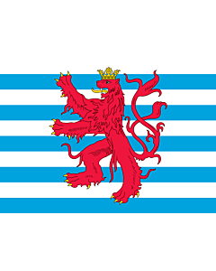 Drapeau: Civil Ensign of Luxembourg