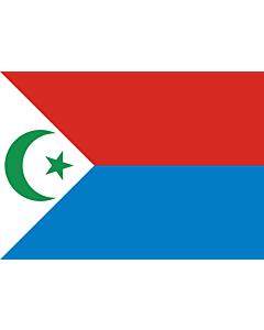 Drapeau: Frolinat | National Liberation Front of Chad  FROLINAT