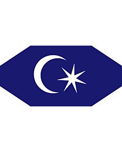 Drapeau: Permaisuri Johor | Standard of the Permaisuri of Johor, Malaysia