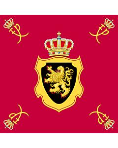 Drapeau: Royal Standard of King Philippe of Belgium