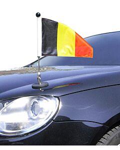 Porte-drapeau de voiture Diplomat-1.30 Belgique à adhésion magnétique