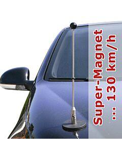 Porte-drapeau de voiture Diplomat-1.30  à adhésion magnétique