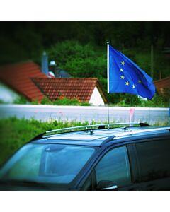 Porte-drapeau de voiture Diplomat-Roof  à adhésion magnétique
