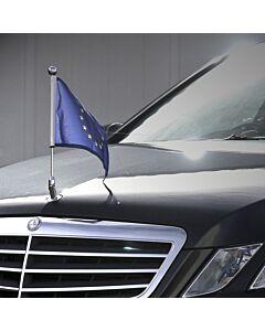 Porte-drapeau de voiture Diplomat-Star pour berline Mercedes-Benz