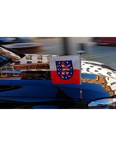 Porte-drapeau de voiture Diplomat-Z-Chrome-Pro-BMW-7-G11