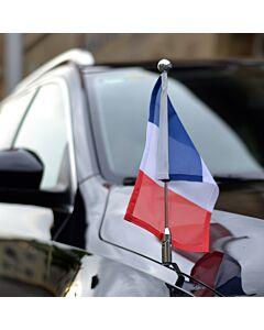 Porte-drapeau de voiture Diplomat-Z-Chrome-PRO
