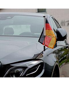 Porte-drapeau de voiture Diplomat-Z-Chrome-MB-W213  pour Mercedes-Benz Classe-E W213 (2016-)
