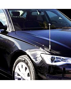 Porte-drapeau de voiture Diplomat-Z-Chrome-AUDI  pour Audi A6 & A8