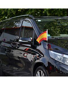 Porte-drapeau de voiture Diplomat-Z-Chrome-MB-V  pour Mercedes-Benz Classe-V & Vito W447 (2014-)