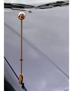 Porte-drapeau de voiture Diplomat-Z-Gold